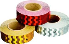 RED REFLECTIVE TAPE 50MMx50M